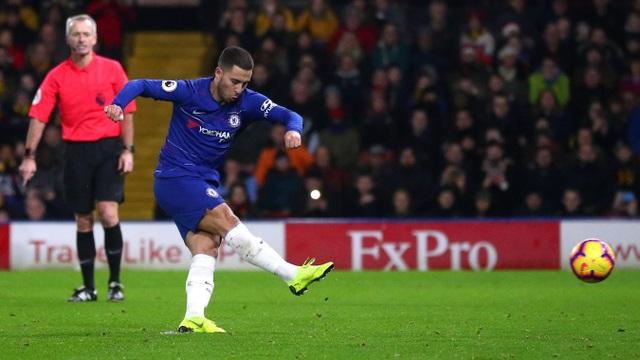 Watford 1-2 Chelsea: Đêm diễn của Hazard - Ảnh 9.