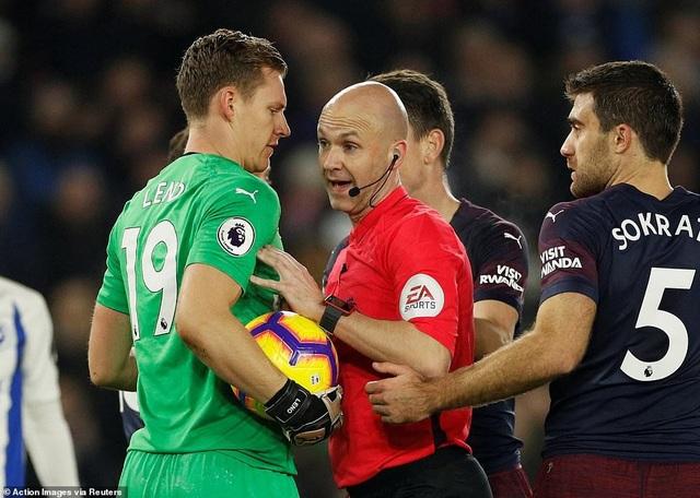 Brighton 1-1 Arsenal: Pháo thủ đánh rơi chiến thắng - Ảnh 4.