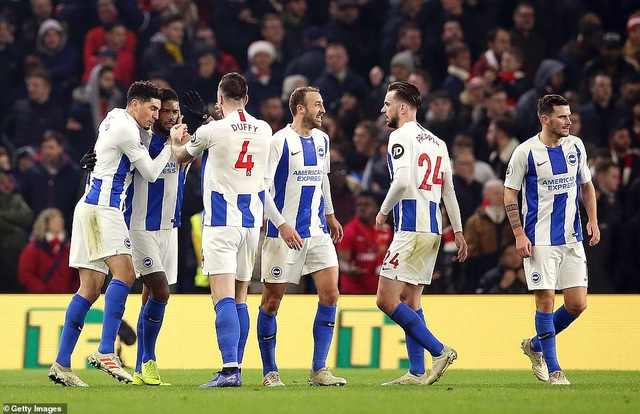 Brighton 1-1 Arsenal: Pháo thủ đánh rơi chiến thắng - Ảnh 2.