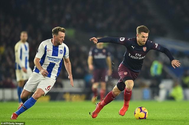 Brighton 1-1 Arsenal: Pháo thủ đánh rơi chiến thắng - Ảnh 5.