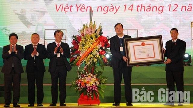 Hàng loạt dấu mốc lịch sử được xác lập tại Bắc Giang năm 2018 - Ảnh 3.