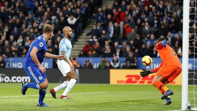 Những khoảnh khắc sụp đổ của Man City trên sân Leicester - Ảnh 10.