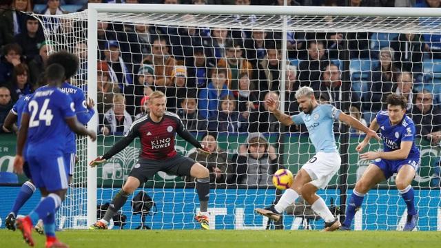Những khoảnh khắc sụp đổ của Man City trên sân Leicester - Ảnh 13.