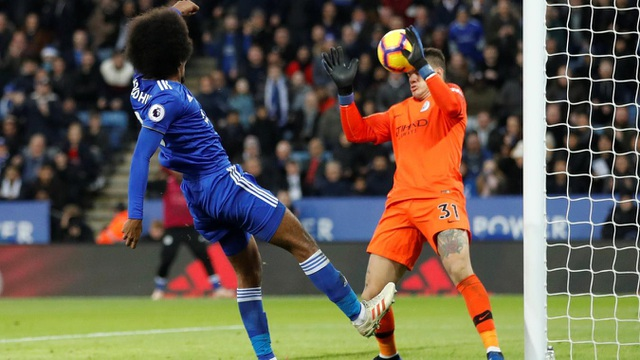Những khoảnh khắc sụp đổ của Man City trên sân Leicester - Ảnh 14.