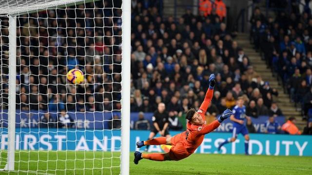 Những khoảnh khắc sụp đổ của Man City trên sân Leicester - Ảnh 16.
