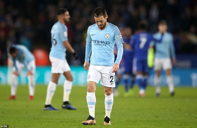 Những khoảnh khắc sụp đổ của Man City trên sân Leicester - Ảnh 21.
