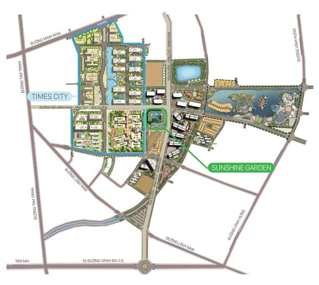 Cận cảnh dự án xanh bên trục đường nghìn tỷ quận Hoàng Mai - Ảnh 1.