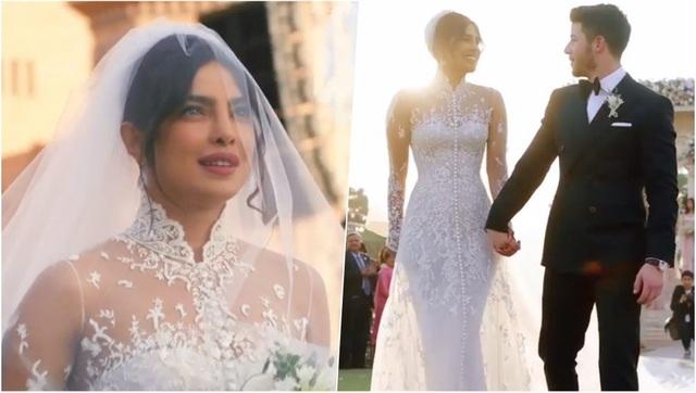 Trọn bộ váy cưới xa hoa của Priyanka Chopra - Ảnh 8.