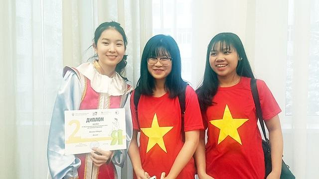 Nữ sinh Việt giành 2 huy chương tại Olympic tiếng Nga quốc tế lần thứ 16 - Ảnh 3.