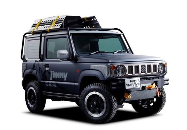 Suzuki làm phiên bản bán tải cho hàng hot Jimny - Ảnh 1.