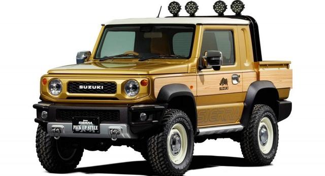 Suzuki làm phiên bản bán tải cho hàng hot Jimny - Ảnh 2.