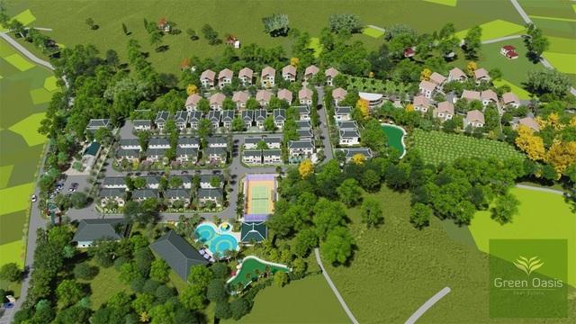 Green Oasis Villas - Không chỉ là nghỉ dưỡng mà còn là ngôi nhà trong mơ - Ảnh 1.