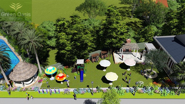 Green Oasis Villas - Không chỉ là nghỉ dưỡng mà còn là ngôi nhà trong mơ - Ảnh 2.
