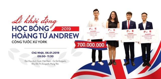 Khởi động chương trình học bổng Hoàng tử Andrew 2019 trị giá lên tới 700 triệu đồng - Ảnh 2.