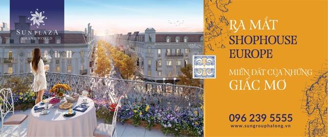 Shophouse Europe Hạ Long: Cơ hội đầu tư thịnh vượng - Ảnh 3.