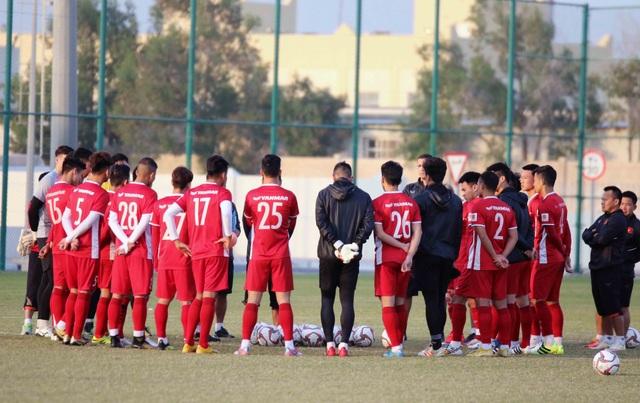 Đội tuyển Việt Nam rèn miếng đánh trong buổi tập đầu tiên ở Qatar - Ảnh 22.