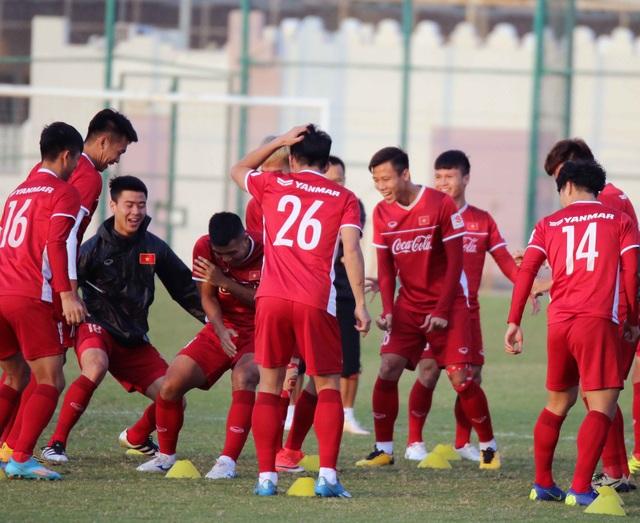 Đội tuyển Việt Nam rèn miếng đánh trong buổi tập đầu tiên ở Qatar - Ảnh 19.