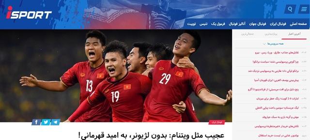 Báo chí Iran gọi đội tuyển Việt Nam là ẩn số ở Asian Cup 2019 - Ảnh 1.