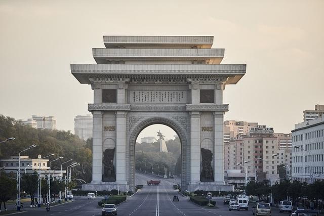 Khải Hoàn Môn ở Bình Nhưỡng, Triều Tiên lớn nhất thế giới