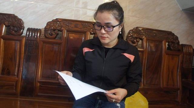 Sau nhiều ngày điều trị, chị Hiền đã được xuất viện và đã viết đơn tố cáo