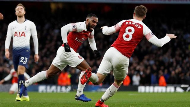 Arsenal thi đấu quá hay vào cuối tuần qua trước Tottenham
