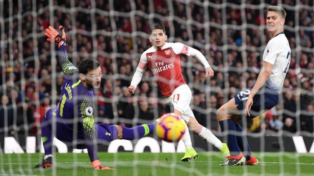 Hai phút sau khi vượt lên dẫn trước, Arsenal lại ghi bàn, Torreira nâng tỉ số lên 4-2 với một cú dứt điểm tinh tế