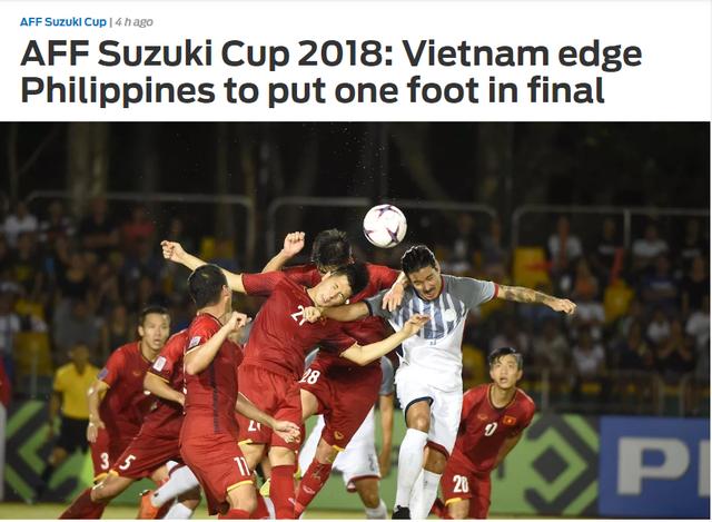 Tờ Fox Sport cho rằng đội tuyển Việt Nam đã đặt một chân vào trận chung kết