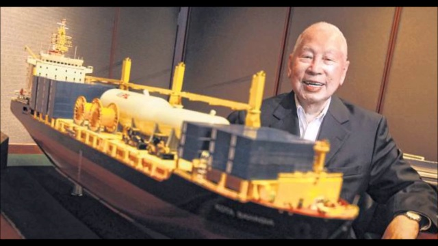 Tỷ phú Chang Yun Chung, hiện đang sở hữu khối tài sản trị giá 1,9 tỷ USD, là tỷ phú già nhất thế giới hiện nay.