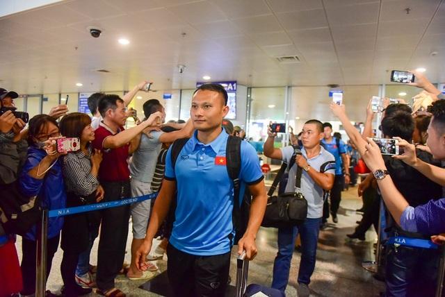 Trọng Hoàng đã có một trận thi đấu thành công trước đội tuyển Philippines.