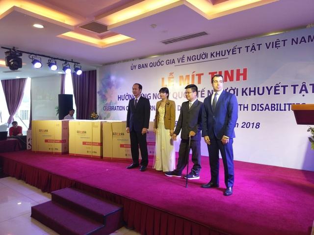 Đây là hoạt động của quỹ Heydar Aliyev nhằm kỉ niệm Ngày Quốc tế Người khuyết tật.