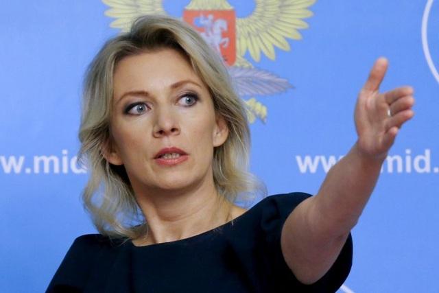 Người phát ngôn Bộ Ngoại giao Nga Maria Zakharova (Ảnh: Sputnik)