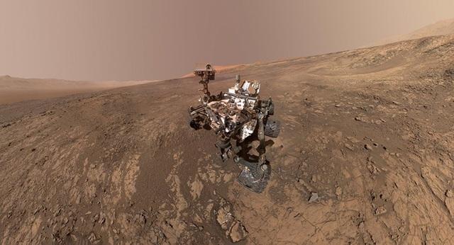 Robot thám hiểm Curiosity. Ảnh: NASA