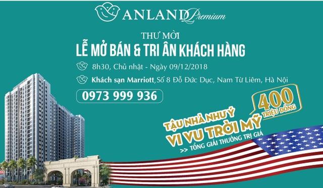 Tập đoàn Nam Cường mở bán và tri ân khách hàng dự án Anland Premium - 1