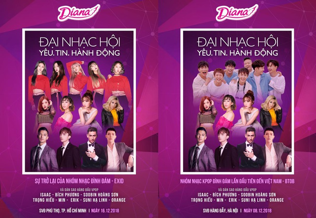 Hai nhóm nhạc Hàn Quốc sẽ đến biểu diễn tại Việt Nam cuối năm nay - 1