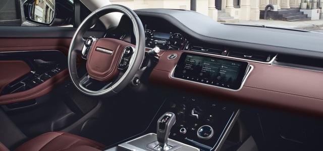 Nội thất Range Rover Evoque thế hệ mới