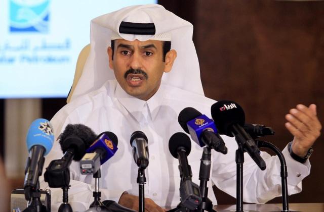 Bộ trưởng Năng lượng Qatar Saad al-Kaabi (Ảnh: Reuters)