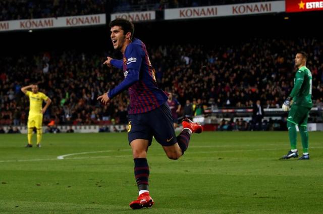 Tài năng trẻ Alena ấn định chiến thắng 2-0 cho Barcelona