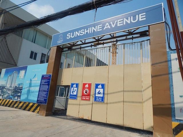 Dự án Sunshine Avenue tọa lạc tại đường 41, phường 16, quận 8, TPHCM (Ảnh: Thái Minh)