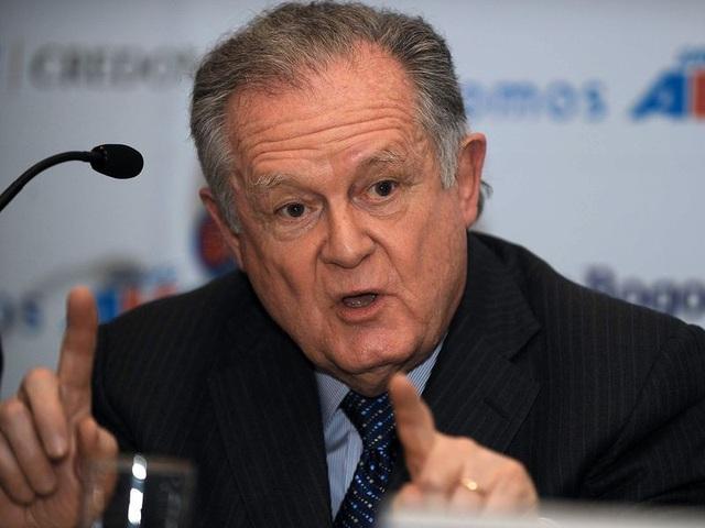 Tỷ phú Luis Carlos Sarmiento (Ảnh: AFP)