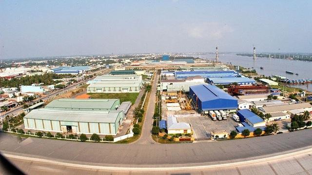 Khu công nghiệp Dịch vụ Dầu khí Soài Rạp có vị trí rất thuận tiện trong việc phát triển kinh tế biển.