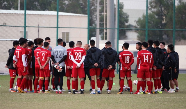 Đội tuyển Việt Nam tăng khối lượng tập luyện tại Qatar - Ảnh 25.