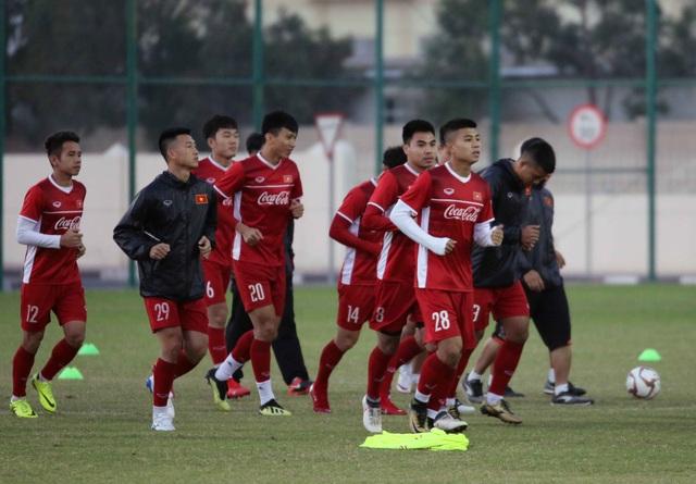 Đội tuyển Việt Nam tăng khối lượng tập luyện tại Qatar - Ảnh 24.
