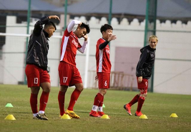 Đội tuyển Việt Nam tăng khối lượng tập luyện tại Qatar - Ảnh 21.