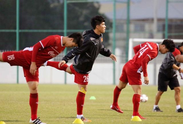 Đội tuyển Việt Nam tăng khối lượng tập luyện tại Qatar - Ảnh 20.