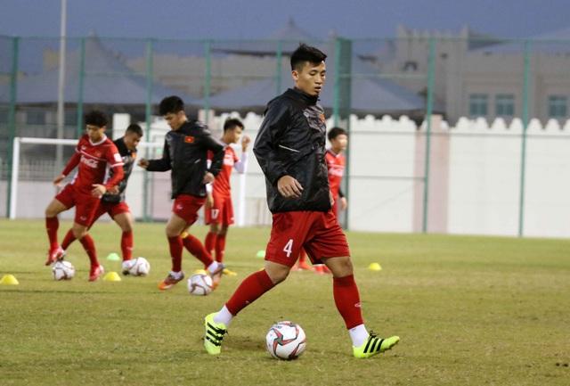Đội tuyển Việt Nam tăng khối lượng tập luyện tại Qatar - Ảnh 17.