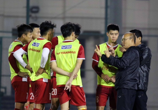 Đội tuyển Việt Nam tăng khối lượng tập luyện tại Qatar - Ảnh 4.
