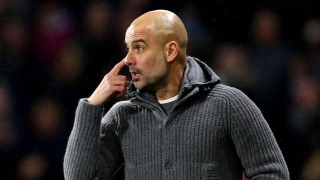 Guardiola đang trải qua quãng thời gian khó khăn cùng Man City