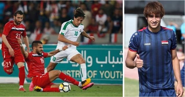 Ngôi sao trẻ của đội tuyển Iraq bị nghi ngờ gian lận tuổi - Ảnh 1.