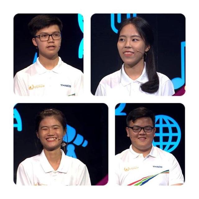 4 thí sinh dự thi