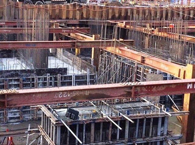 Dự án Charmington Iris đang được xây dựng theo tiến độ.